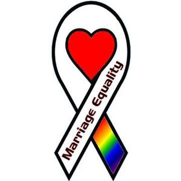 Marriage Equality Ribbon
