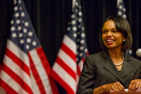 Report Names Condoleezza Rice As Front-Runner For Romney VP Pick