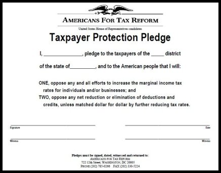 Grover Norquist's GOP Tax Pledge: What It Is and How It Started